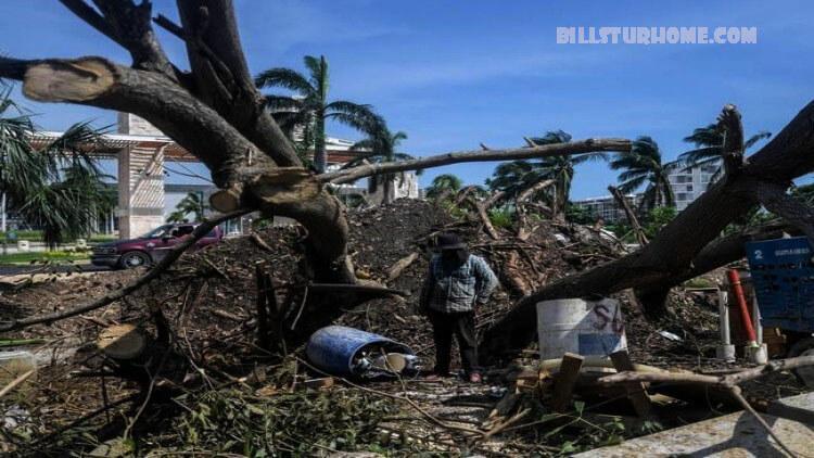 พายุเฮอริเคน เดลต้าถล่มรัฐลุยเซียนา พายุเฮอริเคนเดลต้าทำให้แผ่นดินถล่มในรัฐลุยเซียนาของสหรัฐฯซึ่งยังคงฟื้นตัวจากความเสียหายที่เกิดจากพายุเฮอริเคน