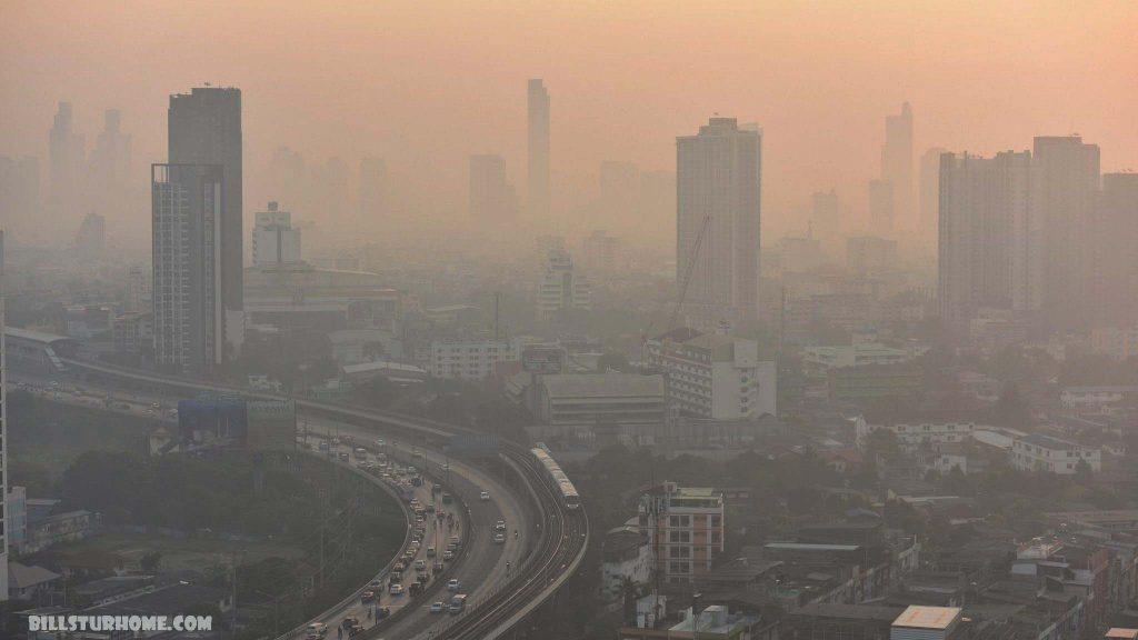 กรุงเทพฯ อากาศแย่อันดับ 3 ของโลก ดัชนีคุณภาพอากาศ (AQI) ในกรุงเทพมหานครพุ่งขึ้นสู่ระดับ 190 ไม่ปลอดภัยเมื่อเช้าวันอังคารซึ่งเป็นเมืองหลวง