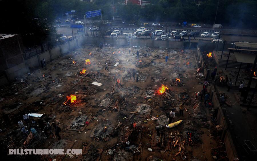 เดลี แสวงหาพื้นที่เผาศพมากขึ้น ตำรวจในกรุงเดลีเมืองหลวงของอินเดียได้ขอให้เจ้าหน้าที่ท้องถิ่นระบุสถานที่เผาศพเพิ่มเติม คลื่นลูกที่สอง